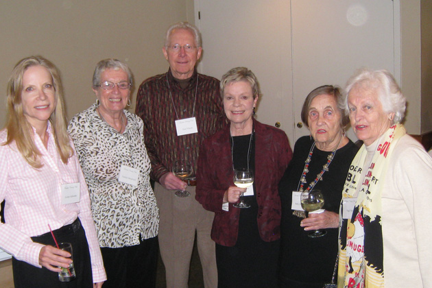 Pictured at the March Northern California meeting are Speaker and new TCC Board Member JoAnn Schwartz, Carolyn Broadwell, Don and Sylvia Fillman, Betty Knudson and Peggy Nute.
