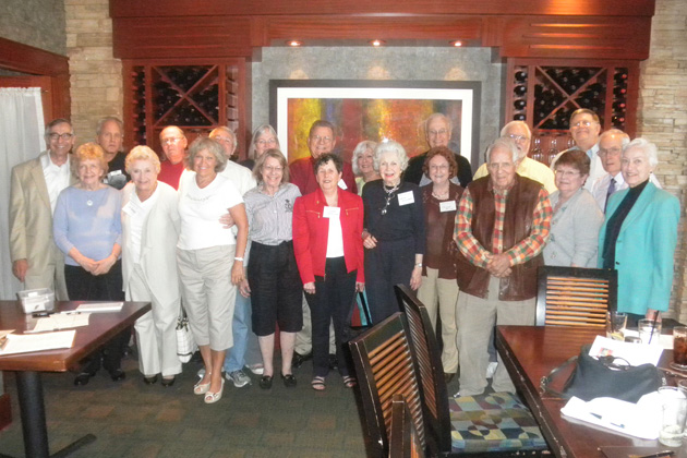 A total of 26 members and guests attended the September meeting in Indianapolis.