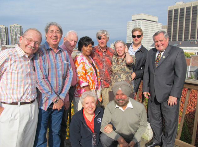 Pictured from top left: Harvey Wartosky, Ned Leigh, Nils Bormanis, Marjorie Ramsey, Daan Sandee, Noel Mann, Tom Seeman, and TCC Executive Board member Kevin Hughes. Pictured on bottom row from left: Joelle Wartosky and Arvi Bahal. Not pictured: New England Area Coordinator Dave Santulli and Themis Stoumbelis.