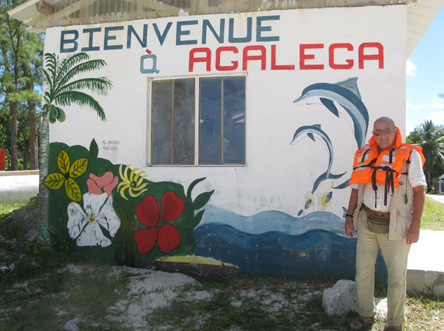 After several tries, TCC member Juan Pons, from Barcelona, was able to reach Agalega Island which is 620 miles north of Mauritius. Only one boat a year is permitted. Pons is a Platinum (over 250 destinations) TCC Member.