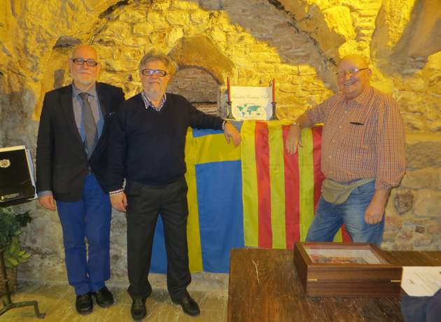 Three TCC members who live in Spain recently met up in the city of Tarragona. Pictured from left to right are provisional member Martin Garrido Melero, Frans Lettenstrom and Juan Pons.