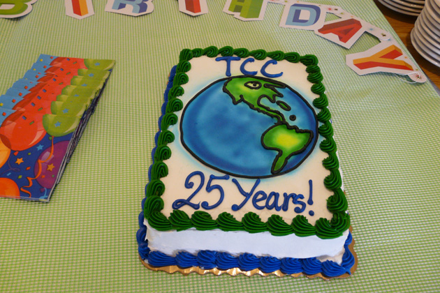 Our 25th Birthday Cake