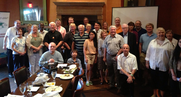 Kansas City Area TCC members gathered at Trezo Mare in June 2014