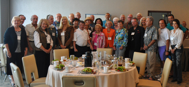 The San Diego TCC Chapter met on Saturday, Oct. 11, at the La Jolla Sheraton Hotel.  Thirty members and guests attended.  Diane Bell presented the program on the Pantanal and Atlantic rainforest of Brazil.