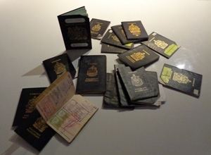 Passports our members shared at the December event