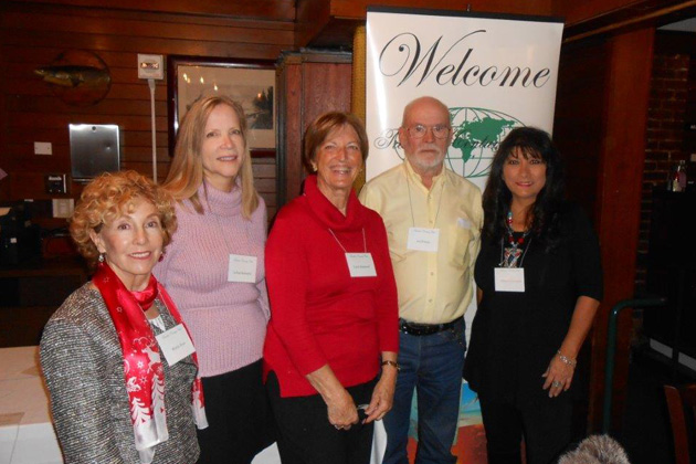 Left to right: Wanda Ross, TCC Vice President JoAnn Schwartz, Carol Desmond, Ed Wilson and speaker Liliie Echevarria