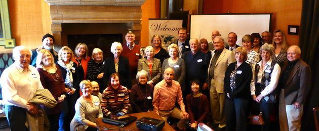 Thirty-five Kansas City Chapter members and guests attended the March 25 meeting.
