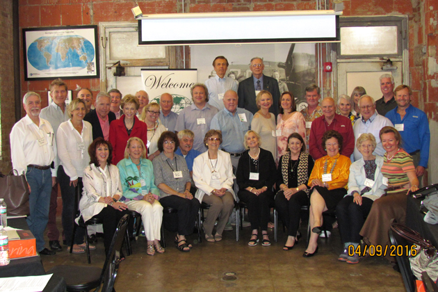 Thirty-three members and guests attended the April 2016 meeting in Houston