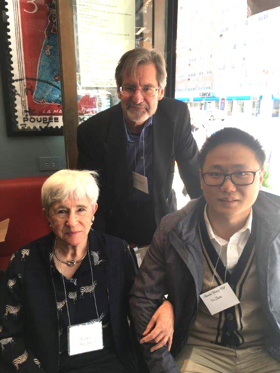New York Coordinator Lynn Simmons with TCC Board Member Chris Hudson and Yu Zhou.