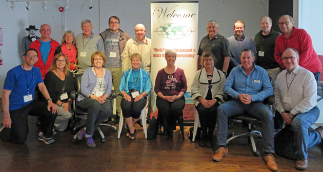 Group photo from the May 2016 Eastern Canada Chapter meeting in Toronto