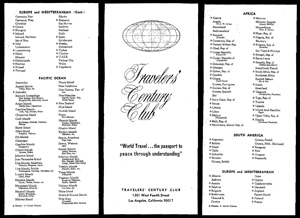 Click this image to open a PDF scan of one of the first TCC country lists, published in November 1965.
