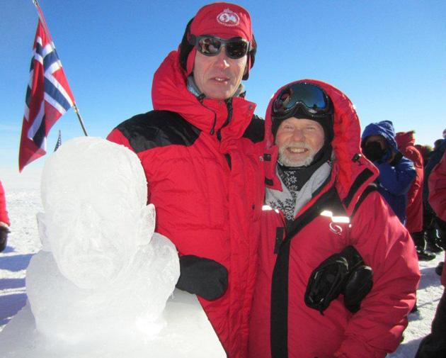 Don Parish and Jens Stoltenberg