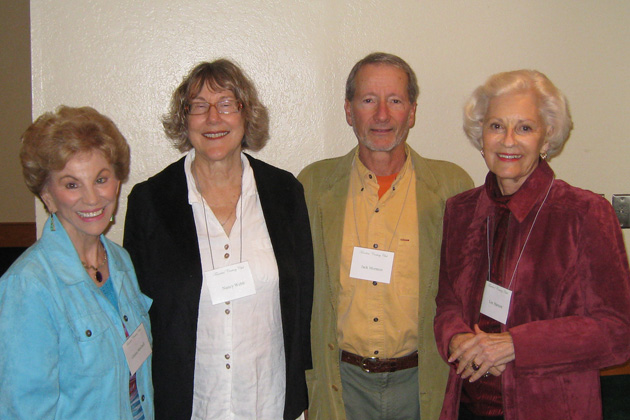 Also at the luncheon-meeting in South San Francisco were Gloria Mitchell, Nancy Webb, Jack Morman and Lee Harnett.