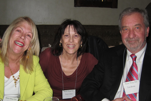 Left to right: Claudia Whitehead, Nanci Lanza and Tom Birnie
