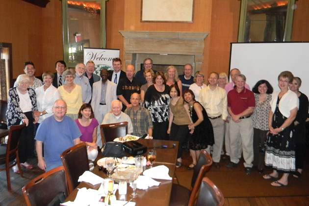 Missouri TCC members gathered at Trezo Mare Restaurant in June 2013.