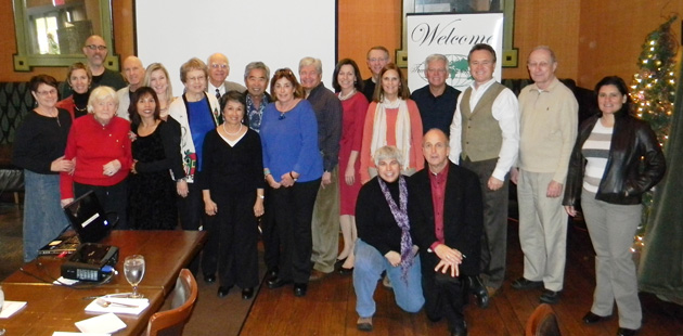 A festive Kansas City TCC gathering in December 2013