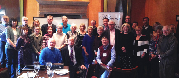 Approximately 40 members and guests attended the March 2014 meeting in Kansas City.