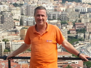 New Diamond TCC member Jorge Sanchez, with 319 destinations visited, is pictured in Monaco in August 2013.