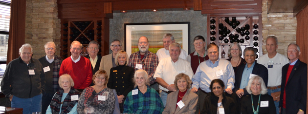 A total of 22 members and guests gathered for the November 2014 Indiana Chapter lunch.