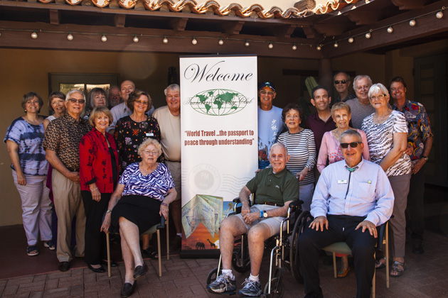 The March 2015 gathering of the Arizona TCC Chapter