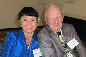 Dr. Gisela and Dr. Rudolf Gisela Oittner came from Munich to attend the German TCC chapter meeting. They also attend all the meetings.