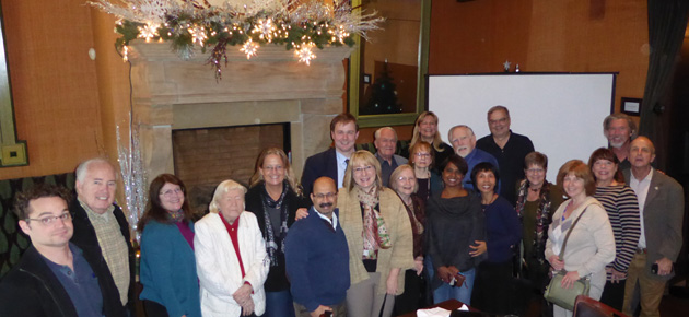 The Kansas City Chapter met on Dec. 4 at Trezo Mare Restaurant. Approximately 40 members and guests attended the December 2015 TCC gathering in Kansas City.