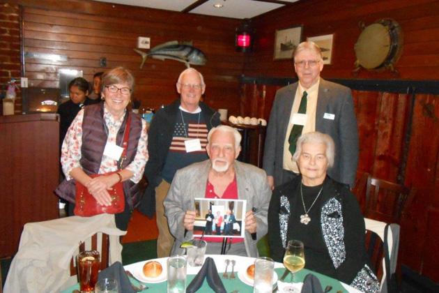 Left to right: Sue Cold, Dan Cold, Sanford Smith, TCC Secretary Bill Morrison and Anne Morrison