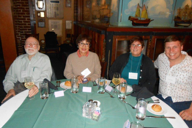 Left to right: Jim Kaumeyer, Linda Byers, Maria Barsotti and Brian Gillis