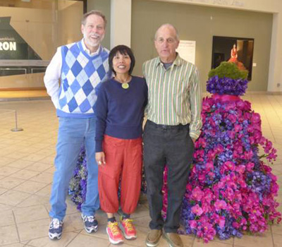 Dr. Steven Clift with Henna and Steve Fuller in LIttle Rock