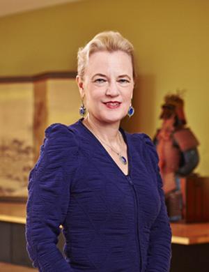 Janet Baker, Ph.D., Curator of Asian Art at the Phoenix Art Museum
