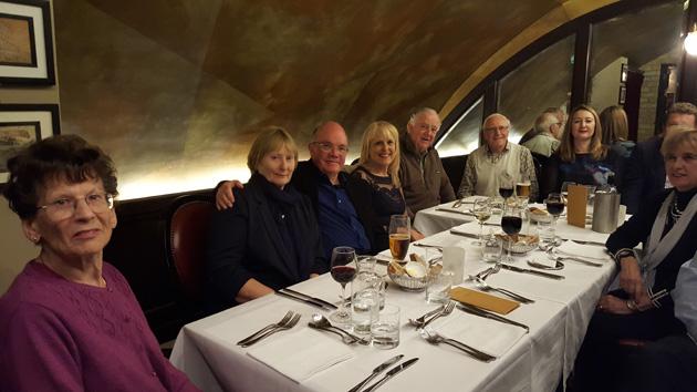 Seated left to right: Mary Elbourne, Elaine Palmer, Angus Palmer, Roberta Roulstone, Colin McCorquodale, John Barnett, Gaylene Kendall, Maggie Burton