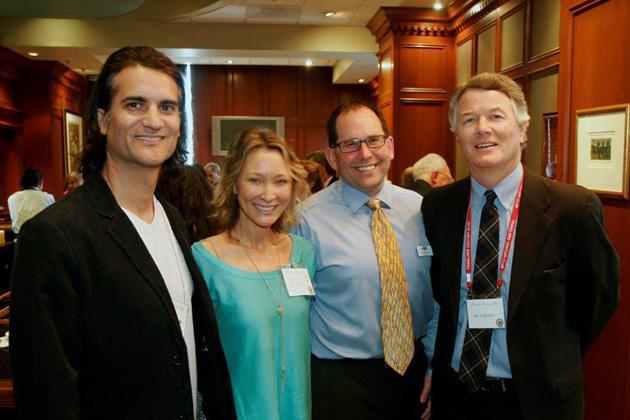John Estrada, Sonya Gregurek, TCC Treasurer Tim Skeet, Jim Ferguson.
