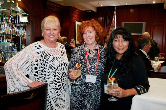 Diane Jarrett (who made arrangements for the venue), Diana Trombley, Speaker Lillie Echevarria