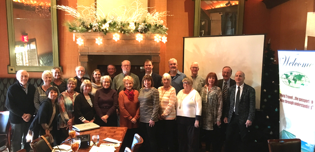 Approximately 25 people attended the December 2016 meeting of the Kansas City TCC Chapter.